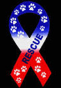 red/white/blue rescue magnet